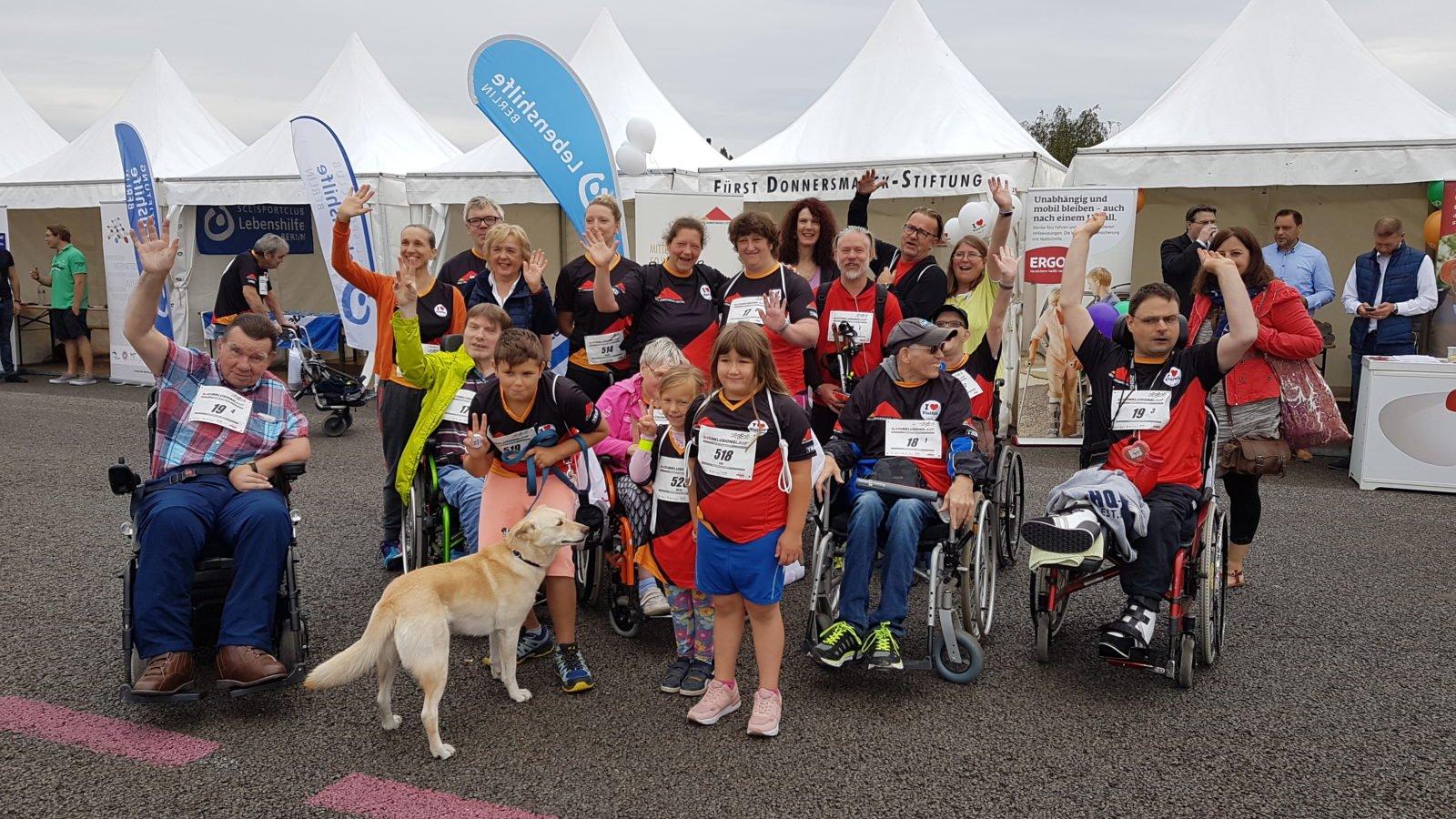 Gruppenfoto unserer Läuferinnen und Läufer.