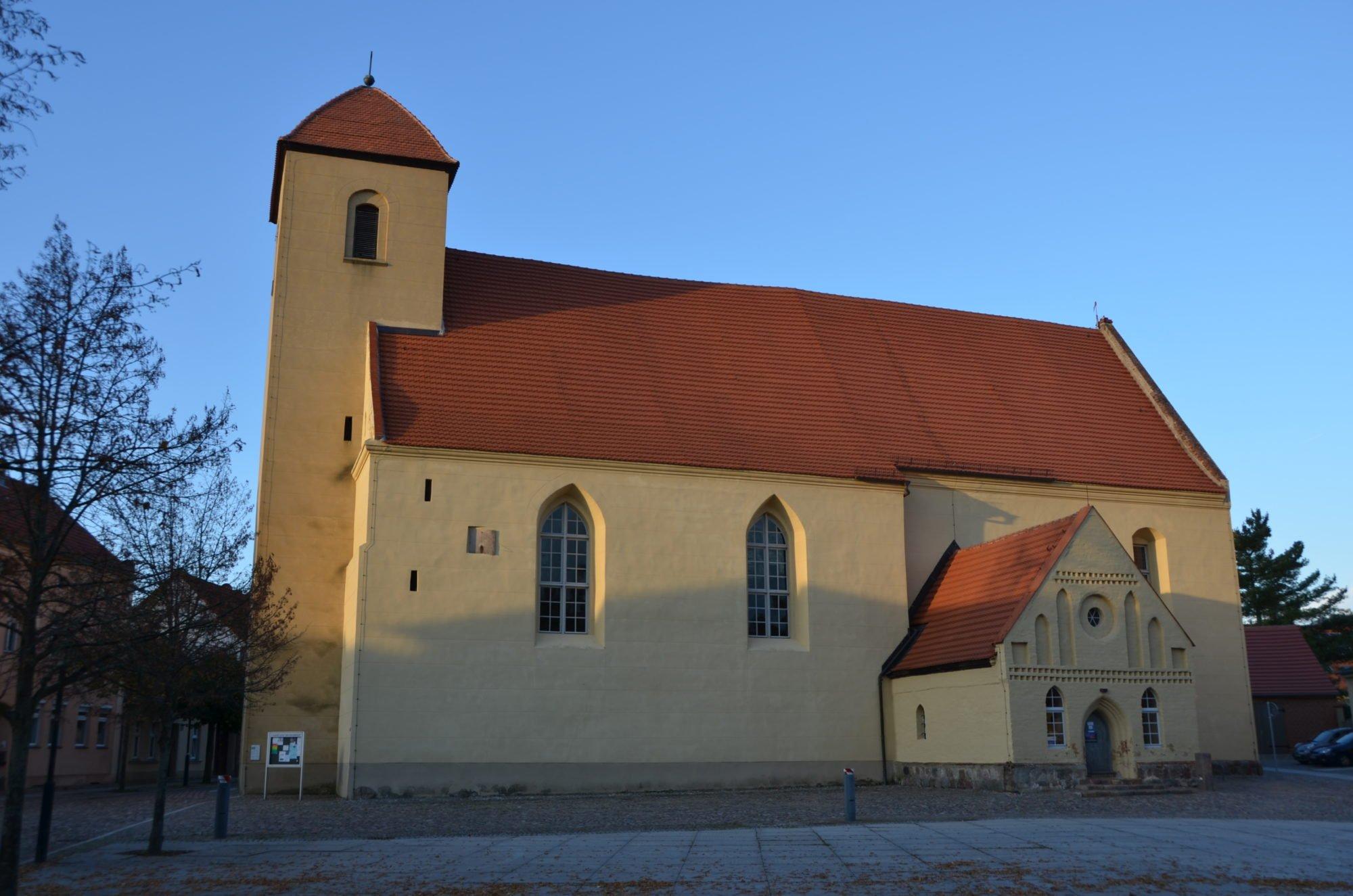 Die Rheinsberger St. Laurentiouskirche