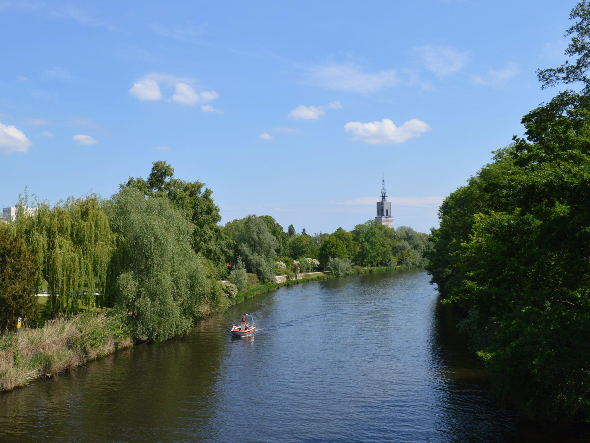 Blick auf die Havel.