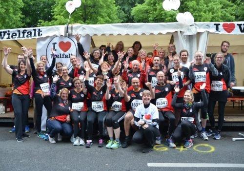 """Das """"Team Donnersmarck"""" beim Firmenlauf 2019"""