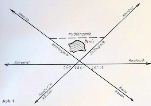Die Planung für die Reichsautobahn durch Frohnau
