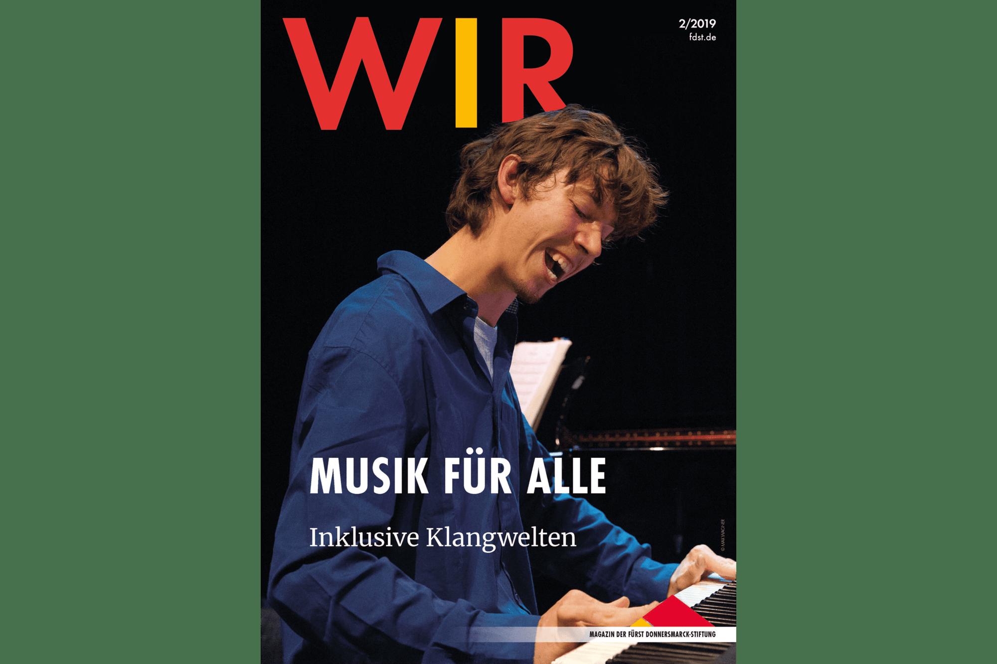 Das Titelblatt des WIR Magazins 2/2019