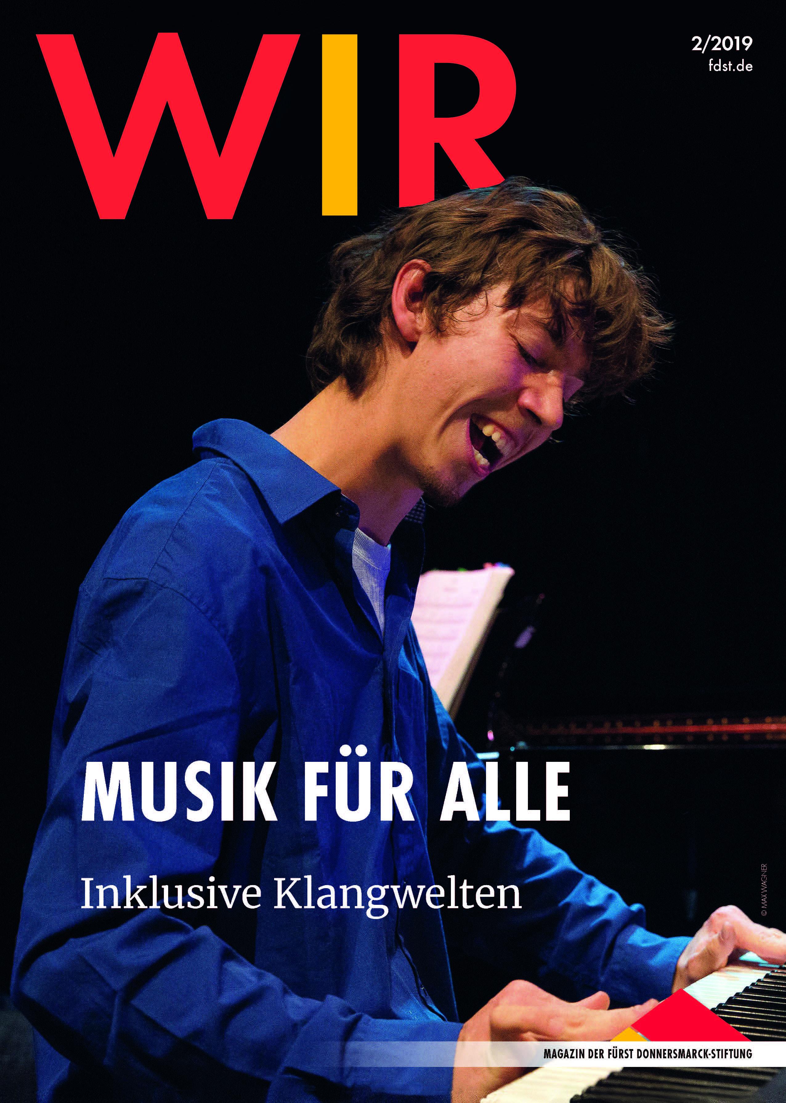 Das Titelblatt der WIR 2/2019
