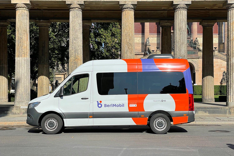 Ein neuer Wagen der BerlMobil-Flotte.