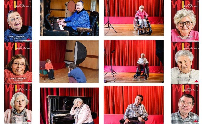 Eine Collage mit allen Titelbildern der WIR 1/2020